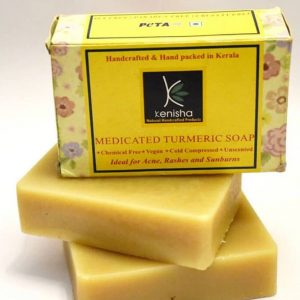 Medicated Turmeric Soap, turmeric soap, medicated soap