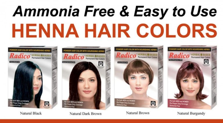 Radico Herbal Hair Color Powder