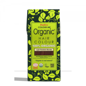 Radico Organic Light Reddish Blonde Hair Color
