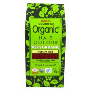 Radico Organic Auburn Red Hair Color