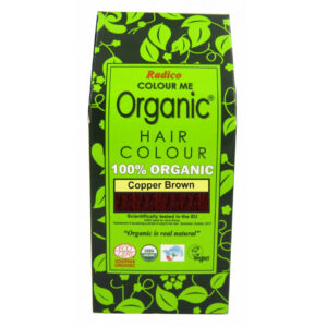 Organic Hair Color Copper Brown, Ayurvedic, Natural