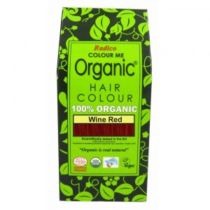 Radico Organic Wine Red Hair Color