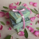 Handmade Aloevera Soap with French Green Clay and Activated Charcoal