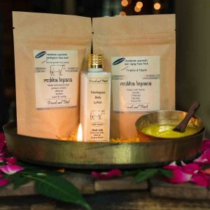 Panchgavya Organic Body Lotion, Panchgavya Face Pack & Triphla Neem Face Mask