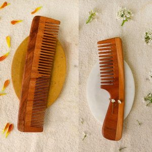 neem wood combs