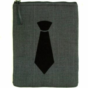 Grey Up Cycled Mini Tablet Sleeve 7 Inches