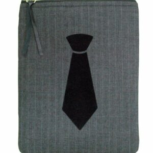 Dark Grey Up Cycled Mini Tablet Sleeve 7 Inch