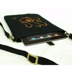 Canvas Ganesha Tablet Sleeve 7 Inch