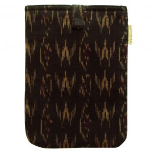 Black Wine Handmade Ikat Tablet/Kindle Sleeve 7 Inch