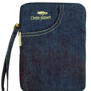Denim Blue Trendy Kindle Sleeve