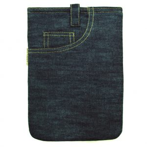 Denim Blue Trendy Tablet Sleeve 7 Inch