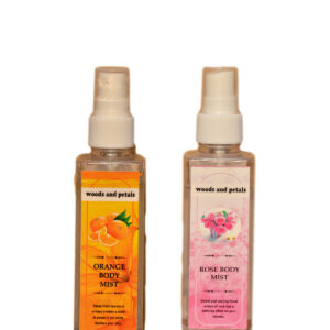 Rose and orange body mist