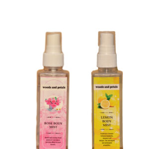 ROSE and LEMON body mist
