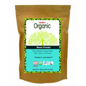 Radico Organic Neem Powder, neem powder, organic neem powder, organic neem, herbal neem powder