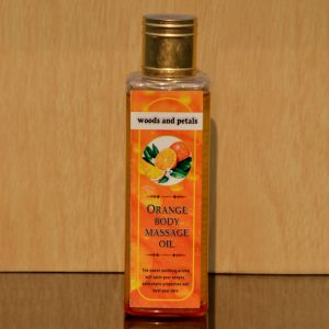 Orange Organic Body massage oil