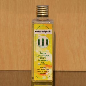 Lemongrass Organic Body massage oil