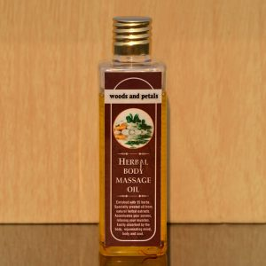 Herbal Organic Body massage oil