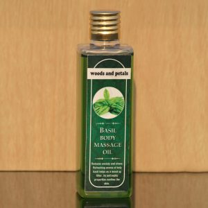 Basil Organic Body Massage oil