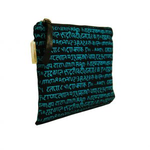 Sky Blue Mantra Multi Functional Travel Pouch