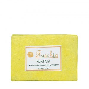 Haldi Tulsi Natural Handmade Herbal Soap
