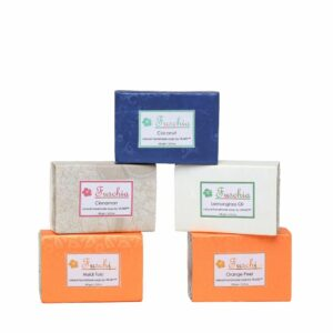 Set of 5 Natural Handmade Herbal Soaps