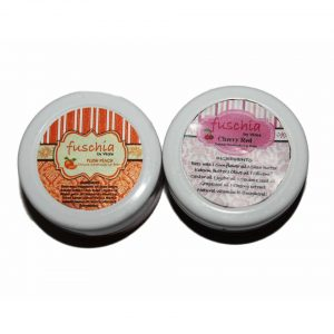 Cherry Red & Peach Lip Balm Combo