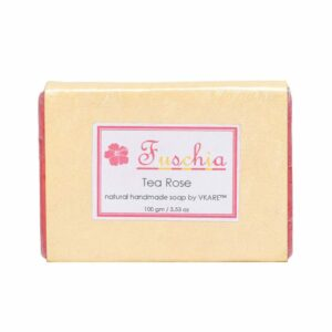 Tea Rose Natural Handmade Glycerine Soap