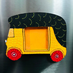Auto Fridge Magnet with Photoframe
