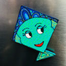Kite Fridge Magnet