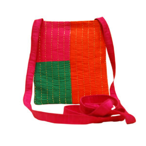 Handcrafted Multicolor Kantha Sling Bag