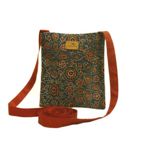 Ajrak Fabric Sling Bag