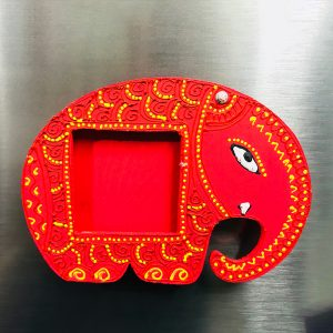 Elephant Fridge Magnet with Photoframe