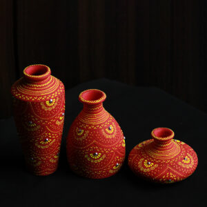 Set of Terracotta Pots