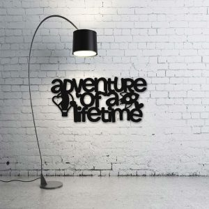 Adventure Of A Lifetime Wooden Wall Accent