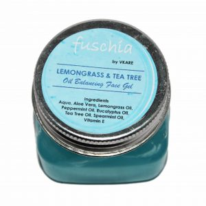 Lemongrass and Tea Tree Oil Balancing Face Gel