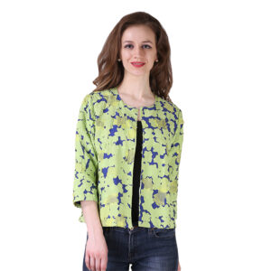 Blue and Green Eclipse Summer Jacket