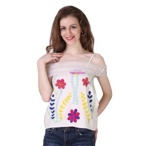 Modal Cotton Garden Off Shoulder Top