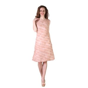 Off White Miss Not So Flimsy Taffeta Dress