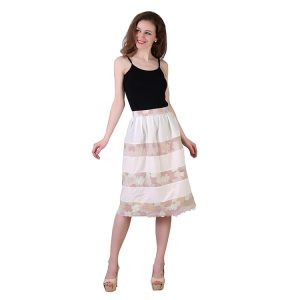 Pastel Bed Taffeta Skirt