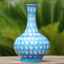 blue pottery, handmade pottery, pottery vase, pottery jewellery box, ceramic vase, Home decor, jaipur blue pottery