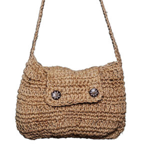 Jutesy Flap Crochet Sling Bag