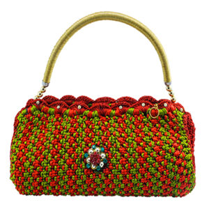 Knotty Hand Purse Crochet Handbag