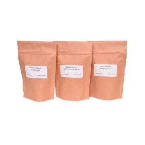 amla powder hibiscus powder bhringraj powder (set of 3)
