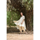 Off White Cotton Kurta Dhoti Set, buy cotton dress, handmade clothes, sustainable clothes, cotton dress, dresses for women, women clothing, wilobyvatika, wilobyvatika clothes, cotton dress for women, women clothing, dresses in India, best dresses in india, casual suit, best quality dress, dress india, kurta set