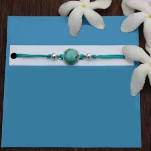 silver rakhi, rakhi, raksha bandhan, rakhi for brother, rakhi gifts, buy rakhi online