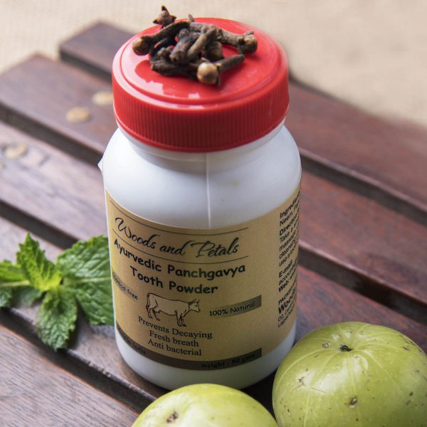 Ayurvedic Panchgavya Tooth Powder (Bone free & Sugar Free)