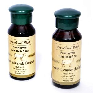 Ayurvedic Panchgavya Pain Relief Oil (Set of 2)