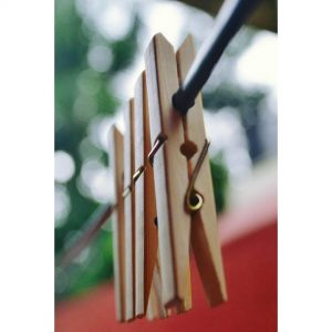bamboo pegs, wooden pegs