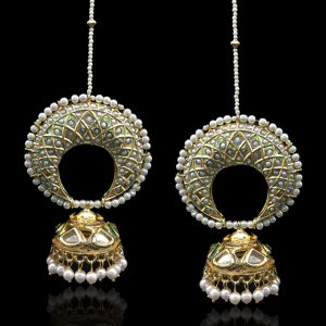 Jhumki Earrings, Earrings, Premium Jewellery