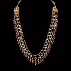 Kundan and Turmulie Necklace